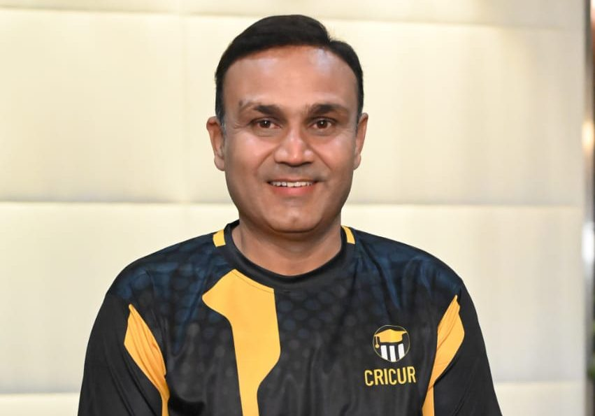 Virender Sehwag launches India's First Experiential learning website for Cricket - CRICUR