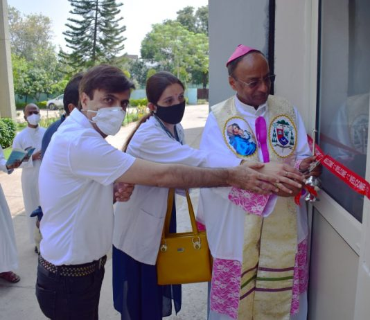 Bishop Gilbert Rego Charitable Clinic Inaugurated
