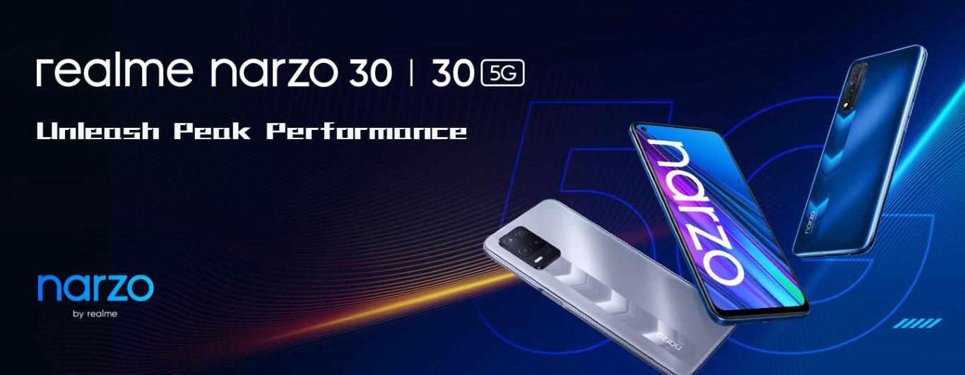 realme introduces realme narzo 30 5G