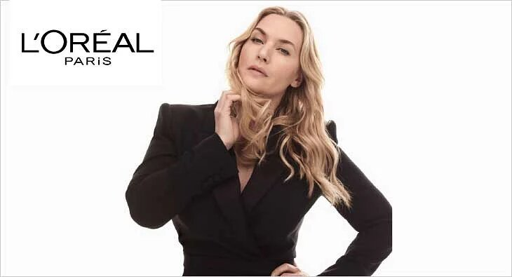 Kate Winslet becomes L'Oreal Paris global ambassador