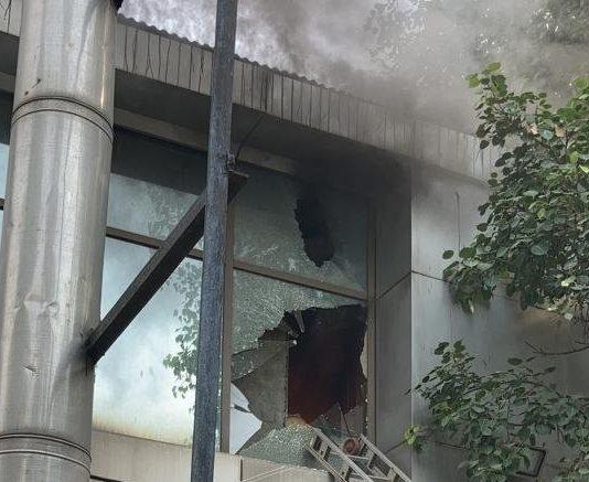 Fire at Safdarjung Airport's IT building