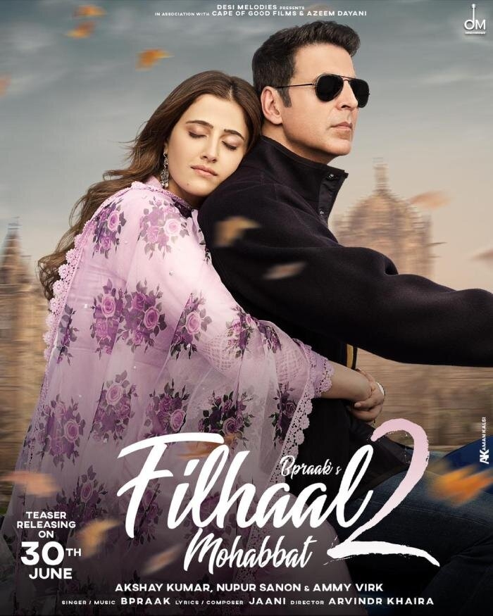 Watch Filhaal 2 Mohabbat Song | Akshay Kumar | Nupur Sanon