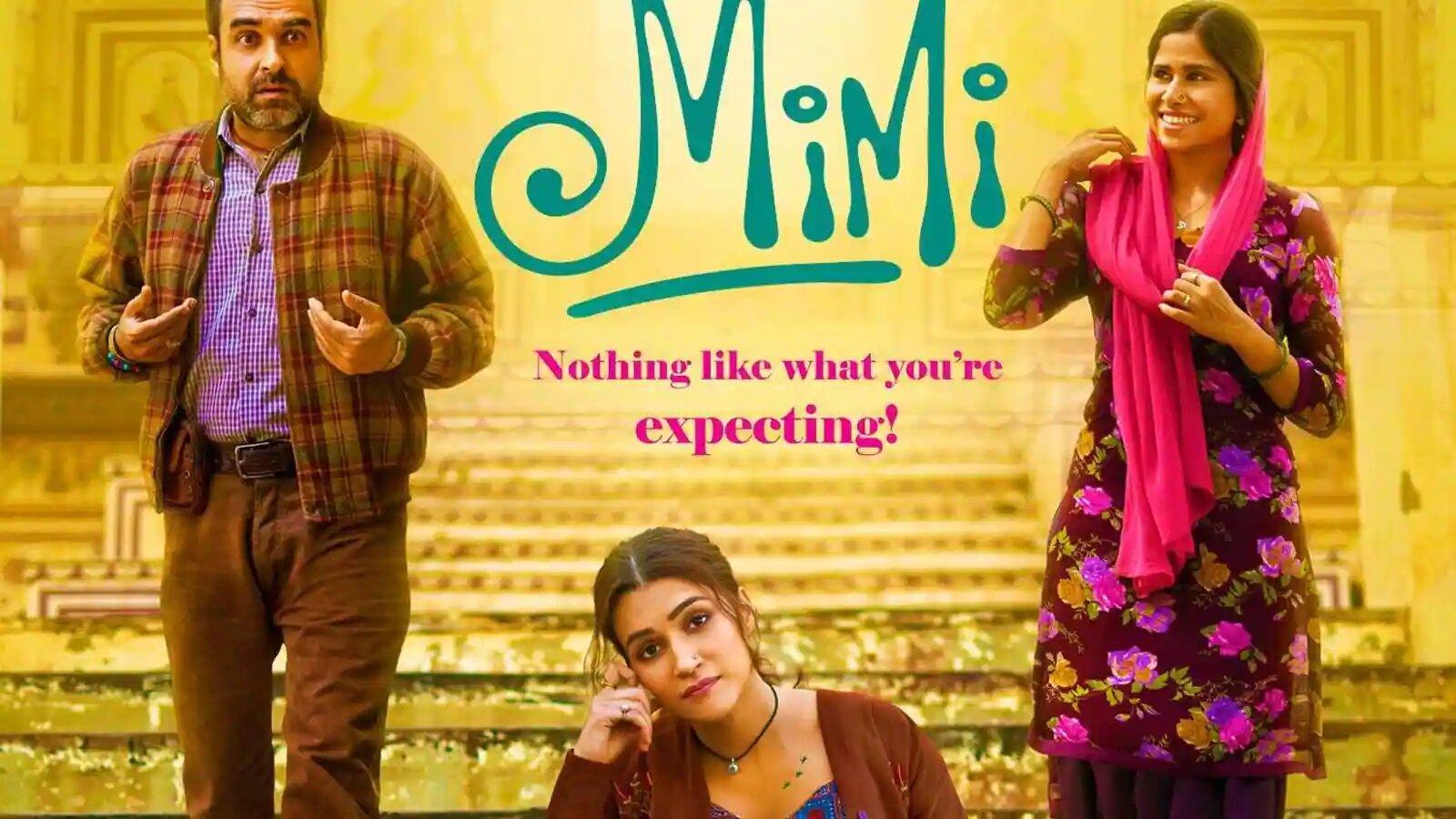 Hindi Film Mimi Trailer