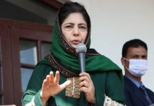 Mehbooba wants LG to stop eviction of PDP leaders from govt quarters