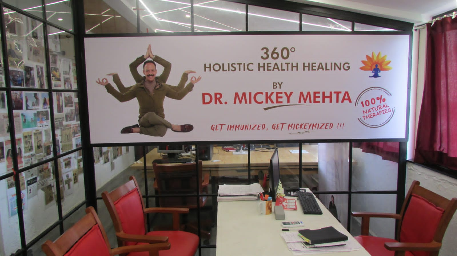 Dr. Mickey Mehta will be stepping into the super sixties
