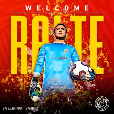 RoundGlass Punjab FC signs goalkeeper Lalthuammawia Ralte