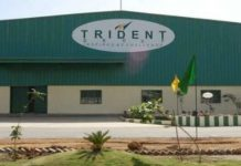 Trident is among the Top 500 companies in India