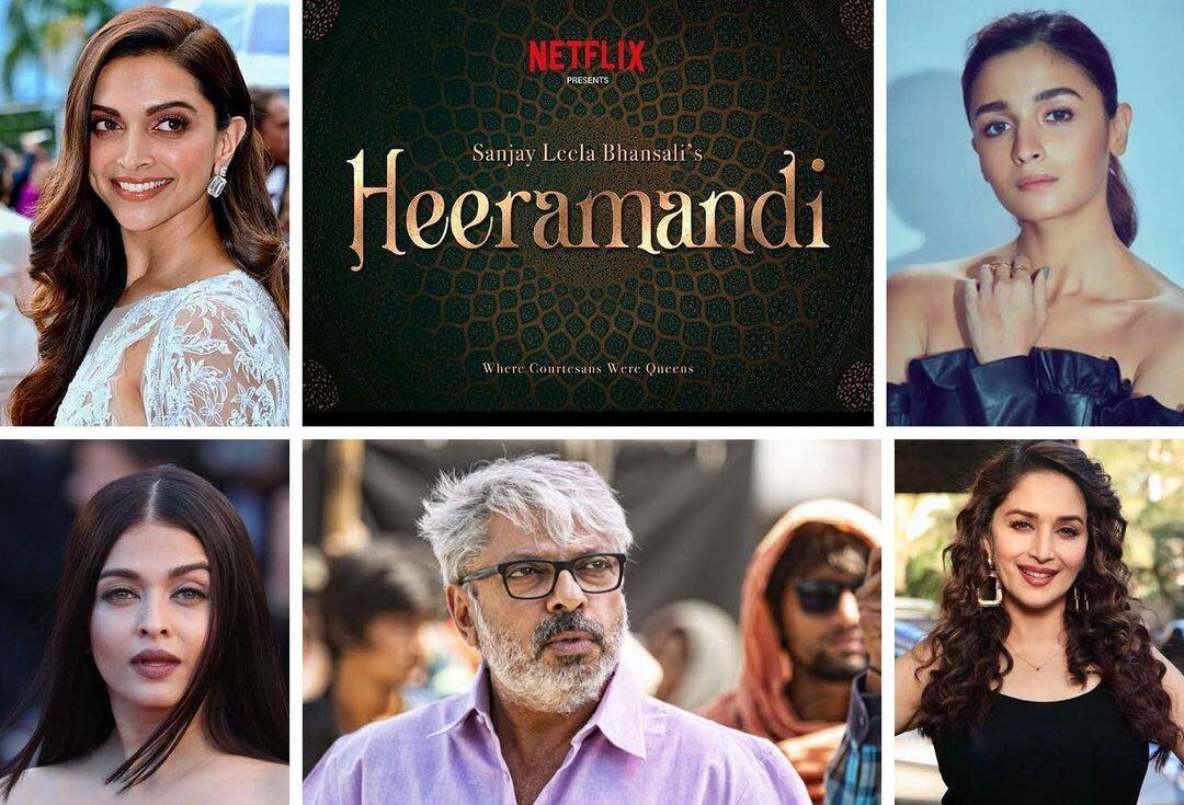 Watch Heeramandi Series Full Episodes on Netflix