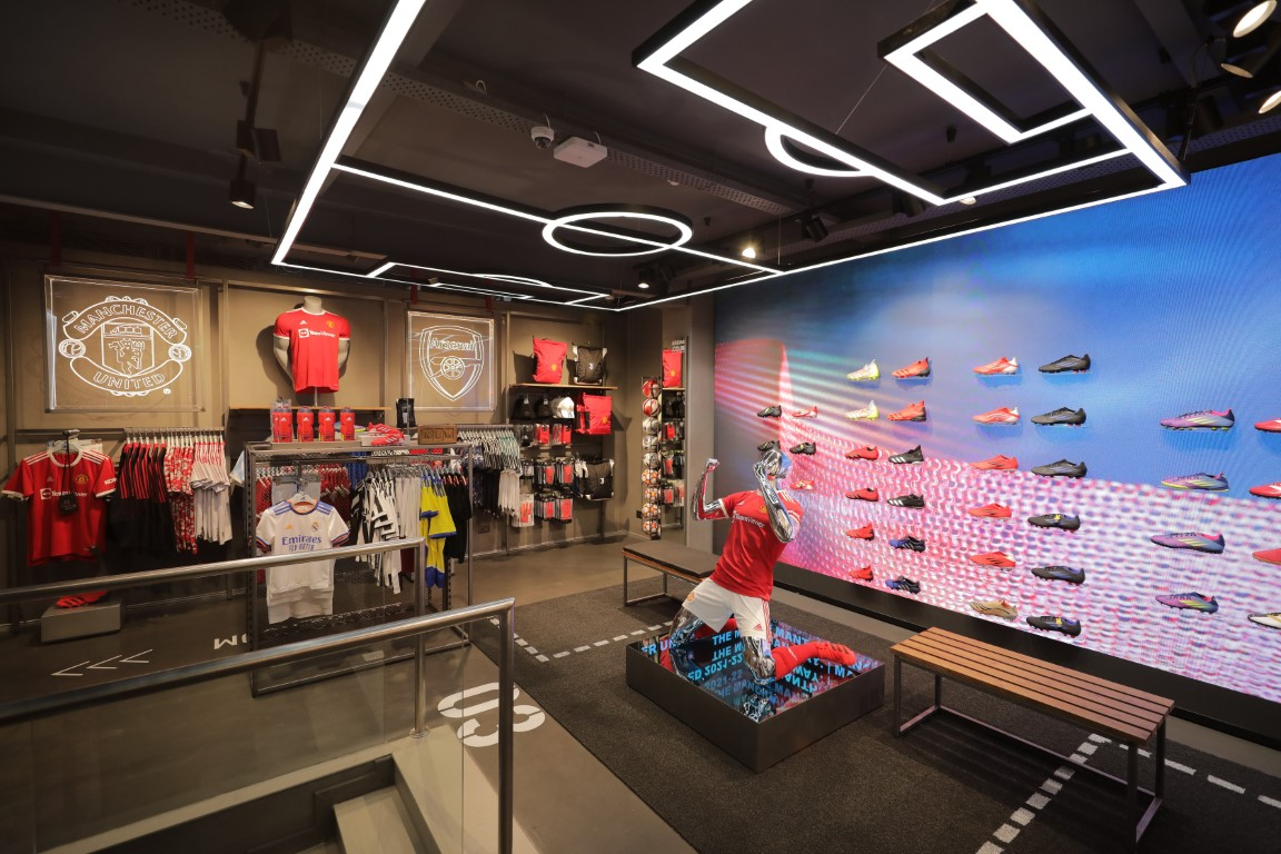 ADIDAS LAUNCHES THE FIRST FLAGSHIP STORE IN INDIA - 'THE HOME OF POSSIBILITIES'