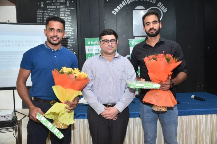 Fortis Hospital Mohali successfully treat 2 players of the Indian Hockey team