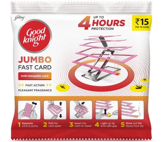 Goodknight unveils latest innovation - Jumbo Fast Card