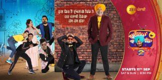 "Zee Punjabi's show ""Haasya Da Halla 2"" opens with a smashing 1.6 TVR numbers"