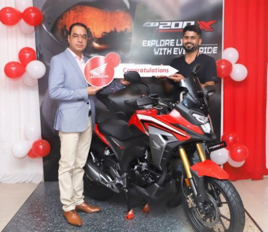Honda 2Wheelers India commences deliveries of the all-new CB200X