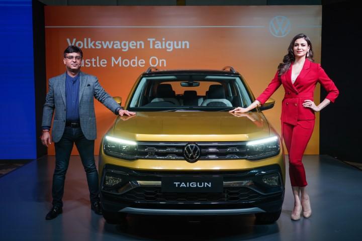 Volkswagen India showcases their new SUVW – the Taigun