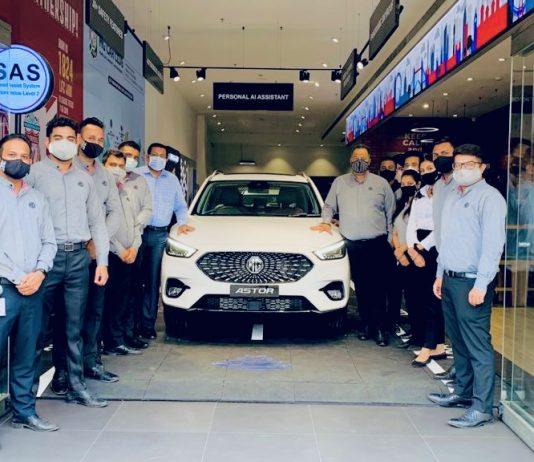 MG Motor India unveils Astor
