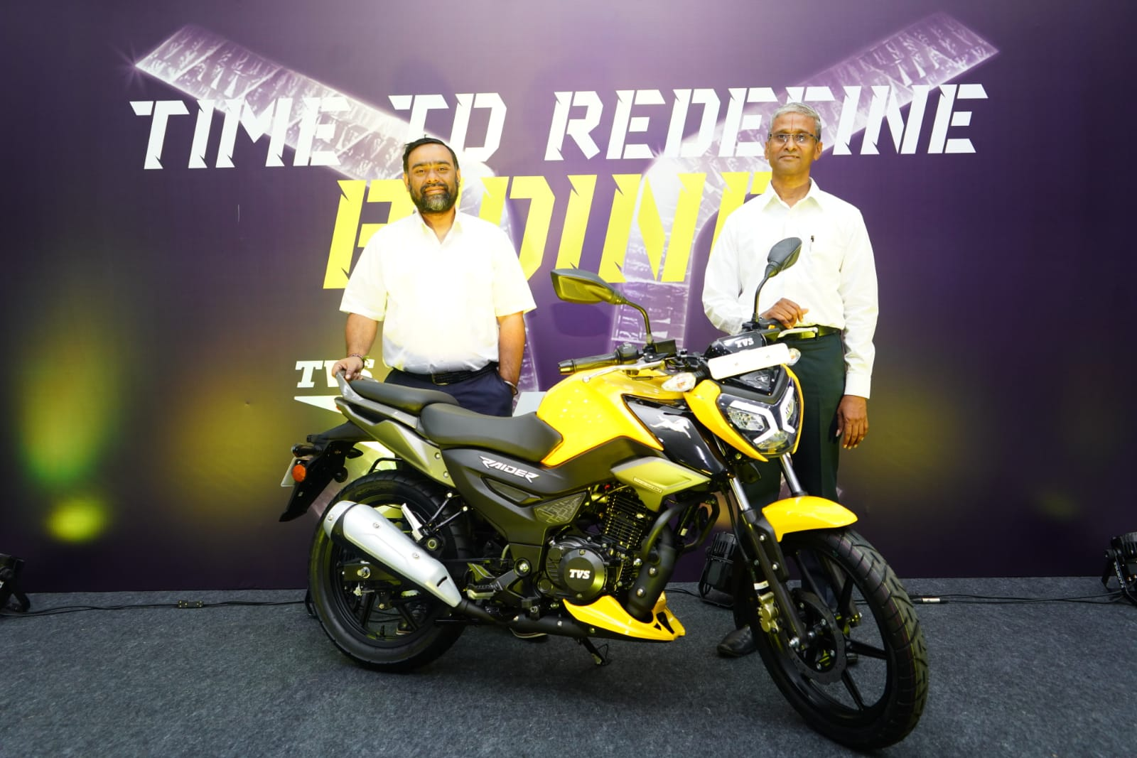 TVS Motor Company launches Naked Street Design 'TVS Raider' motorcycle globally for the Gen