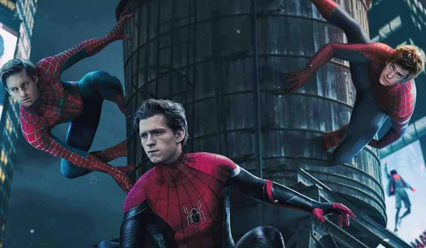 Tobey Maguire and Andrew Garfield On Set of Spider-Man No Way Home Check Leaked Images