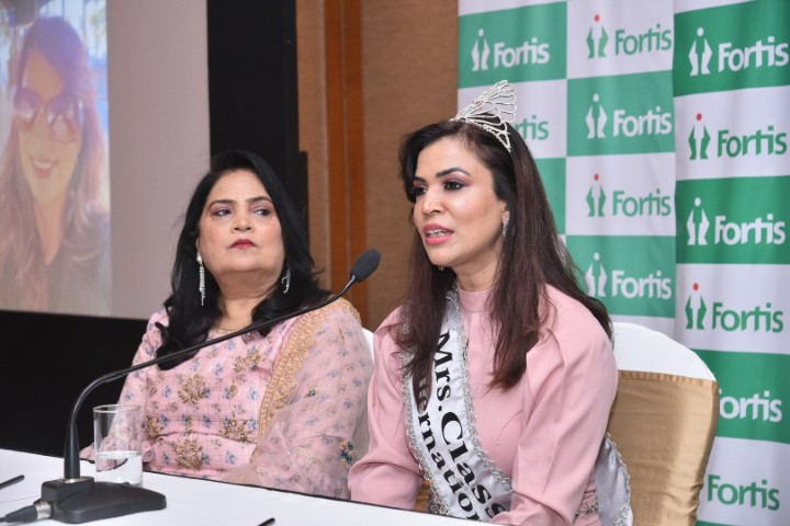 Fortis Mohali doc wins International beauty pageant