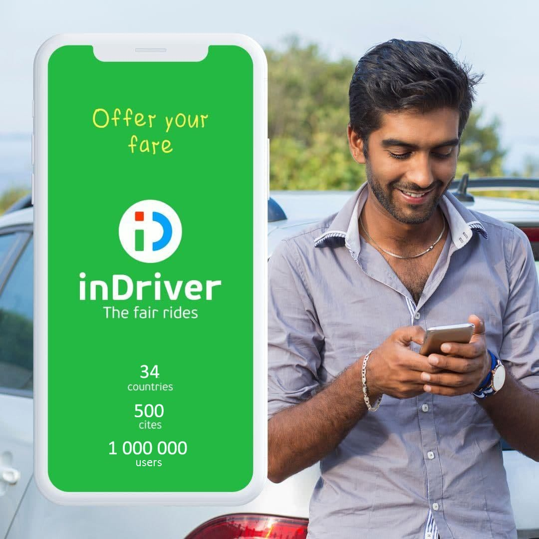 Enjoy hassle free drive this festive season. Book your rider with inDriver