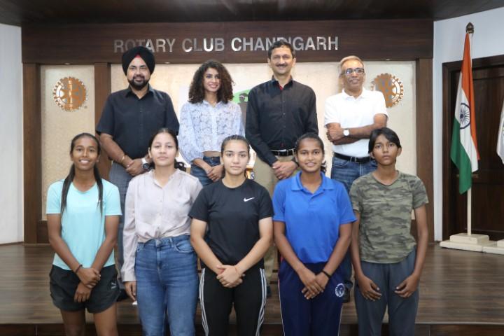 Playwrite Foundation felicitates Harmilan Kaur