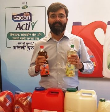 Bunge India announces the re-branding of Gagan Oils to Gagan 'Activ'
